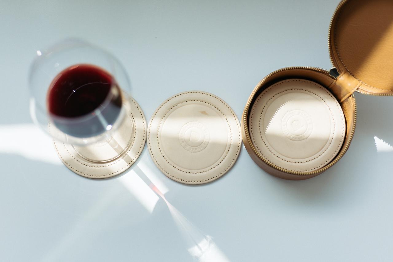 为生活加分的八件式杯垫组