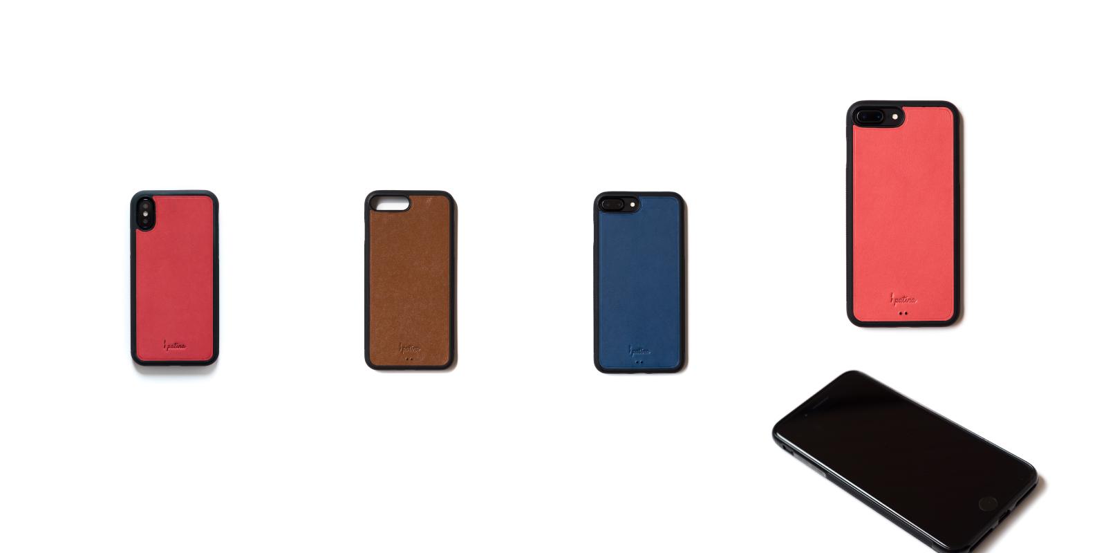 皮具定制真皮手机壳