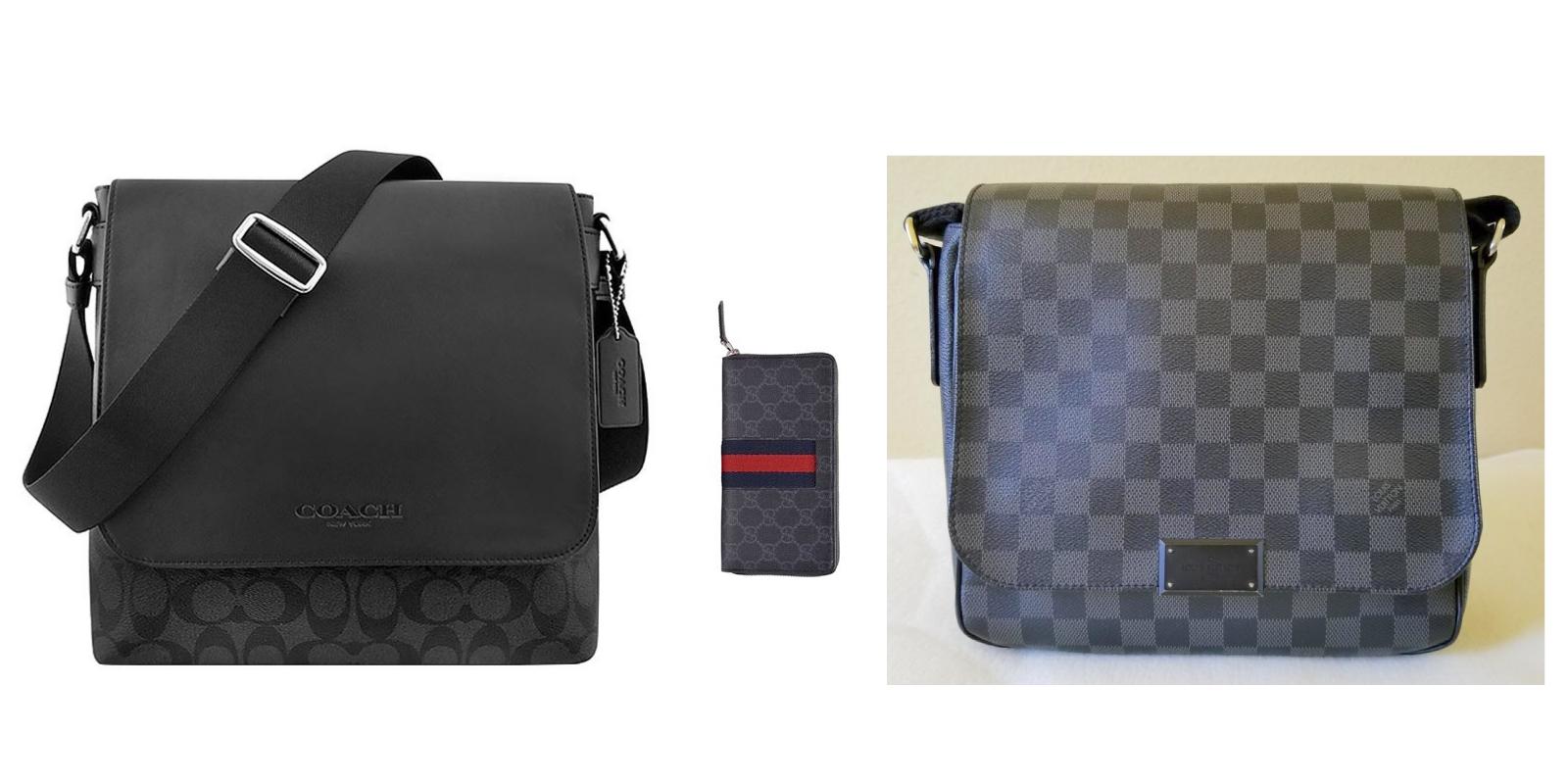 独特的礼物男款侧背包