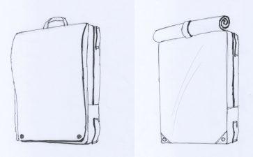 背起思念的旅途订制后背包