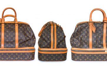 【LV皮包】 Sport Bag 运动袋改成 Goyard 托特包与手机壳