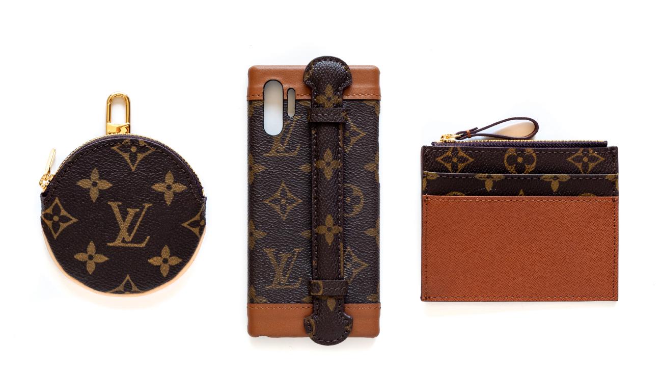 LV Sport Bag 运动袋变成 Goyard 托特包与手机壳