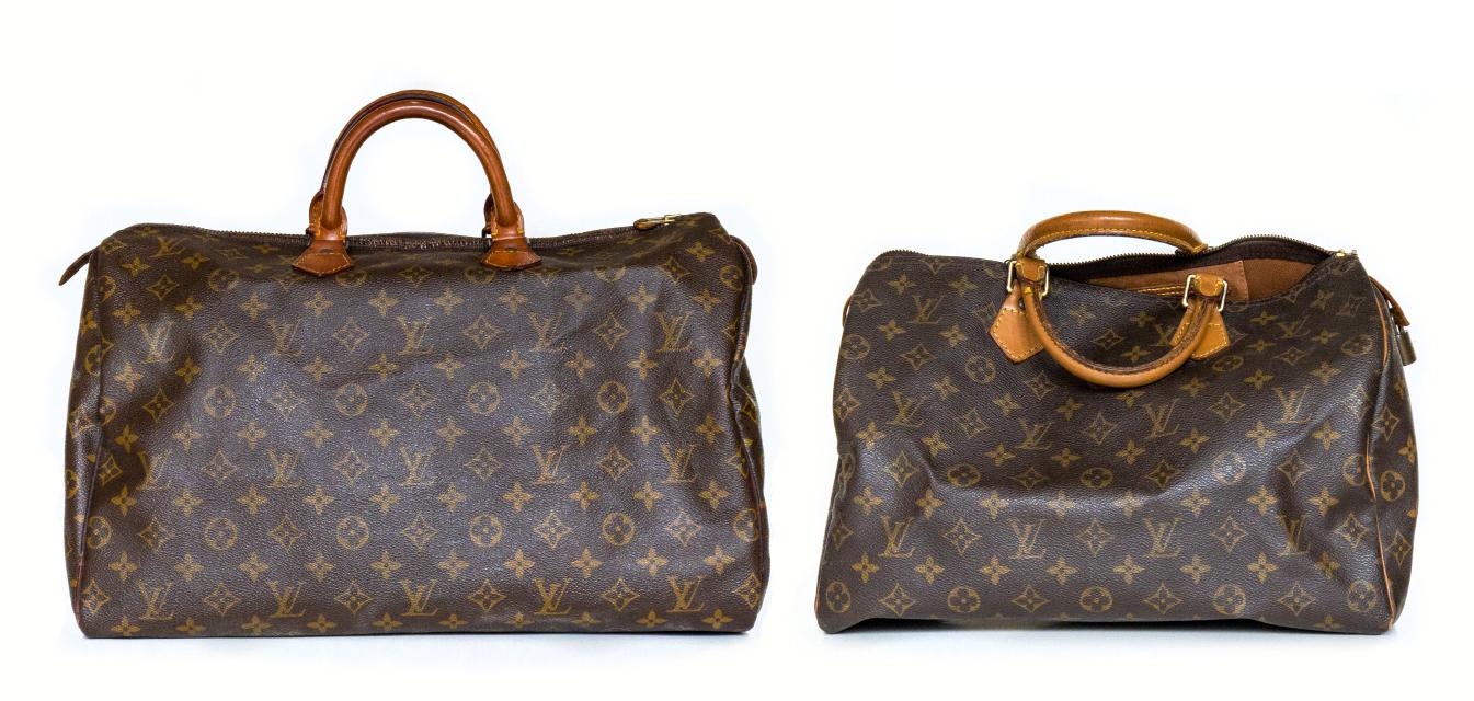 Speedy 4035手提包改成 Pochette Métis 斜背包与腰包