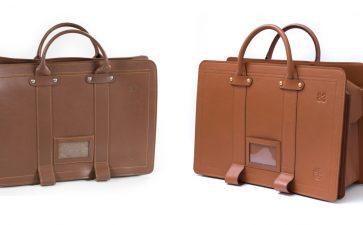 包包订制 复刻台铁皮革公文包
