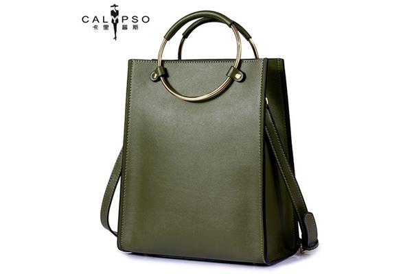 真皮斜挎女式小包包