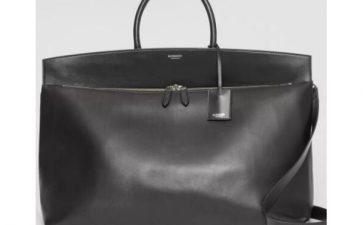 burberry男士手拿包,巴宝莉格纹拼皮手提包